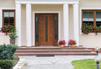 Drzwi zewnętrzne drewniane Kraków