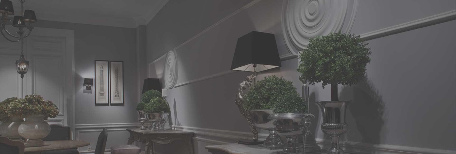 Listwy ścienne Dekoracyjne Dekoracje Na ściany Abc Dom